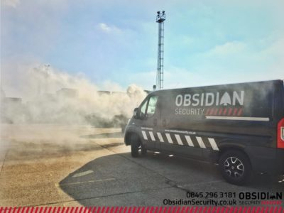Obsidian Security smoke cctv